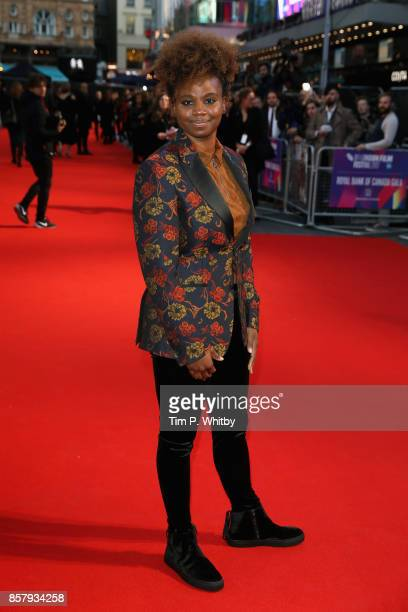 Director Dee Rees attends the Royal Bank of Canada Gala European Premiere of 'Mudbound' during the 61st BFI London Film Festival on October 5 2017 in...