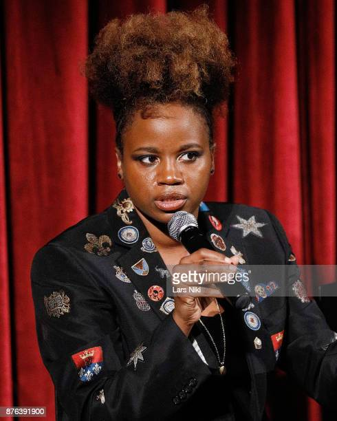 Director Dee Rees on stage during The Academy of Motion Picture Arts Sciences Official Academy Screening of Mudbound at the MOMA Celeste Bartos...