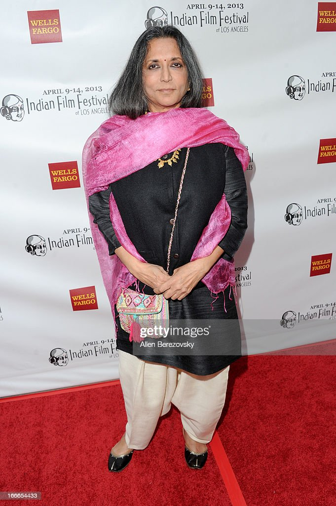 Director Deepa Mehta attends the 11th Annual Indian Film Festival of Los Angeles Closing Night Gala premiere of 'Midnight's Children' at ArcLight Hollywood on April 14, 2013 in Hollywood, California.
