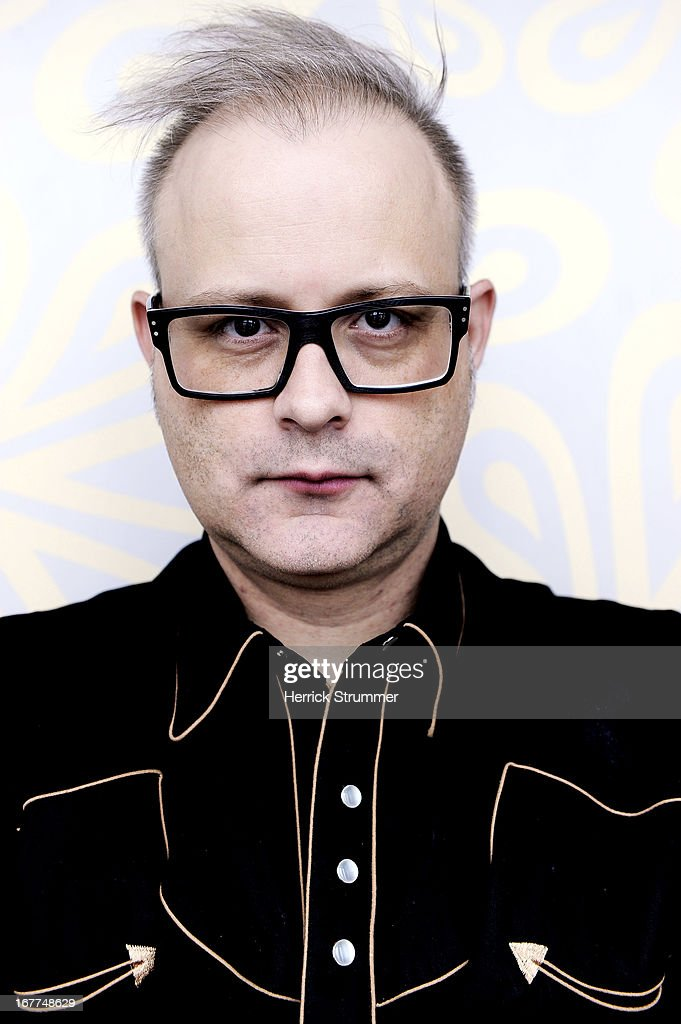 Director Denis Cote poses for a portrait Session for 'Vic Et Flo Ont Vu Un Ours' In Berlin on April 25, 2013 in Berlin, Germany.