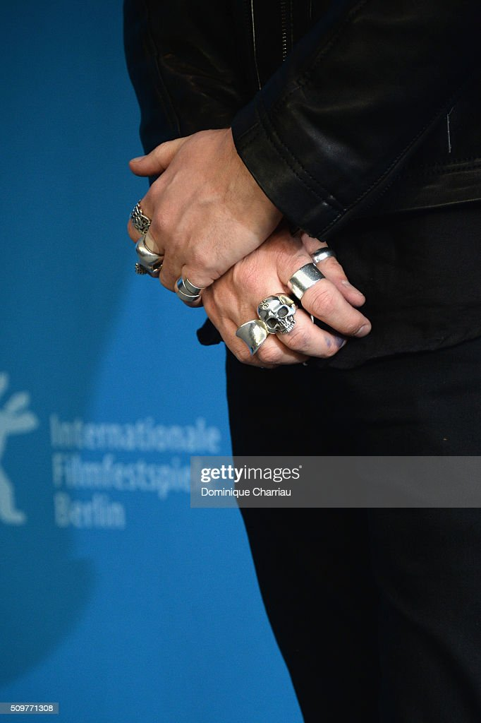 Director Denis Cote,detail, attends the 'Boris without Beatrice' (Boris sans Beatrice) photo call during the 66th Berlinale International Film Festival Berlin at Grand Hyatt Hotel on February 12, 2016 in Berlin, Germany.