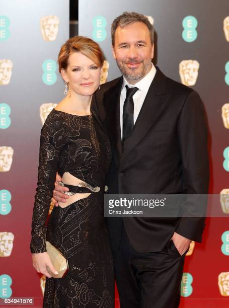 Director Denis Villeneuve and his wife Tanya Lapointe attend the 70th EE British Academy Film Awards at Royal Albert Hall on February 12 2017 in...