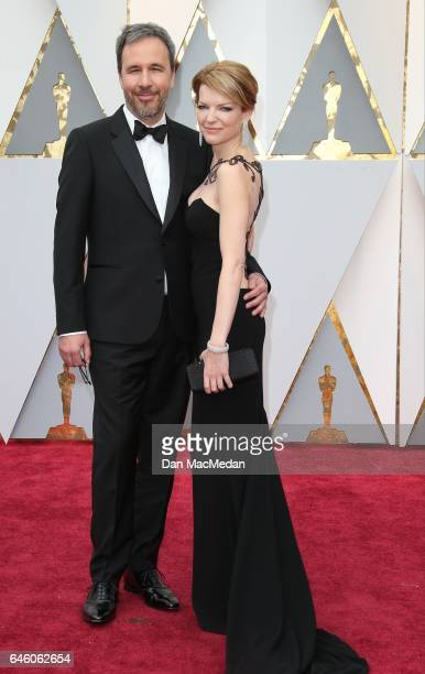 Director Denis Villeneuve and Tanya Lapoint arrive at the 89th Annual Academy Awards at Hollywood Highland Center on February 26 2017 in Hollywood...