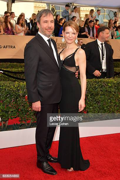 Director Denis Villeneuve and Tanya Lapointe attend the 23rd Annual Screen Actors Guild Awards at The Shrine Expo Hall on January 29 2017 in Los...