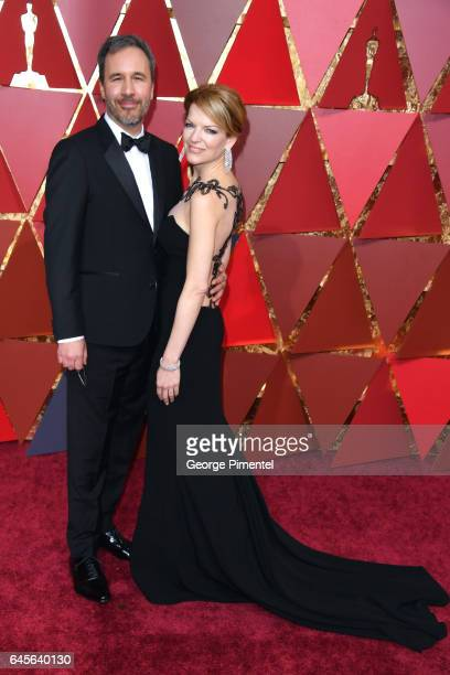 Director Denis Villeneuve and Tanya Lapointe attends the 89th Annual Academy Awards at Hollywood Highland Center on February 26 2017 in Hollywood...