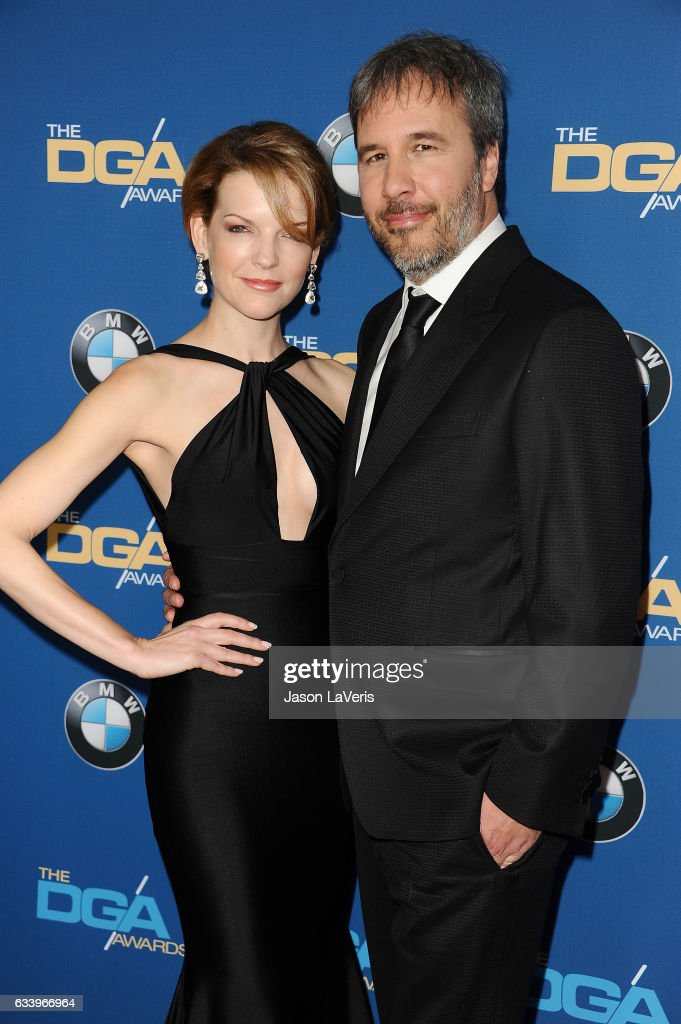 Director Denis Villeneuve and wife Tanya Lapointe attend the 69th annual Directors Guild of America Awards at The Beverly Hilton Hotel on February 4, 2017 in Beverly Hills, California.