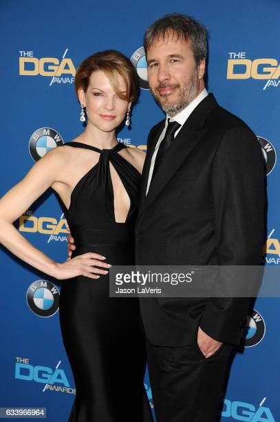 Director Denis Villeneuve and wife Tanya Lapointe attend the 69th annual Directors Guild of America Awards at The Beverly Hilton Hotel on February 4...