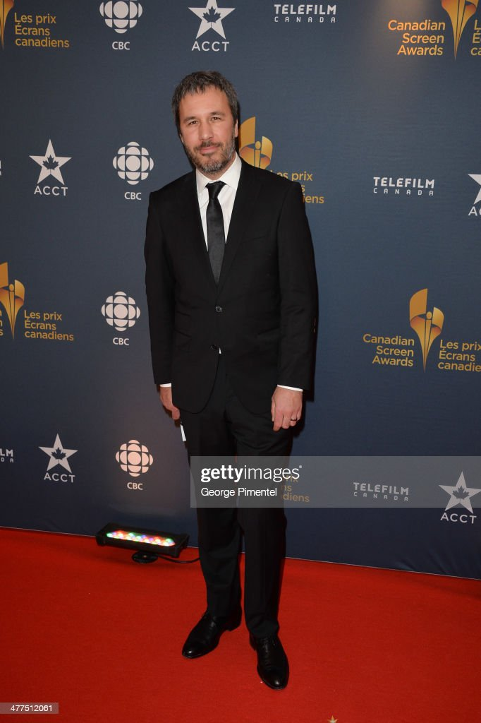 Director <a gi-track='captionPersonalityLinkClicked' href=/galleries/search?phrase=Denis+Villeneuve&family=editorial&specificpeople=6688941 ng-click='$event.stopPropagation()'>Denis Villeneuve</a> arrives at the Canadian Screen Awards at Sony Centre for the Performing Arts on March 9, 2014 in Toronto, Canada.