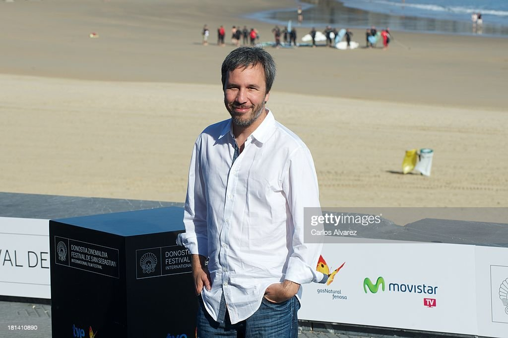 Director <a gi-track='captionPersonalityLinkClicked' href=/galleries/search?phrase=Denis+Villeneuve&family=editorial&specificpeople=6688941 ng-click='$event.stopPropagation()'>Denis Villeneuve</a> attends the 'Enemy' photocall during the 61th San Sebastian International Film Festival at the Kursaal Palace on September 21, 2013 in San Sebastian, Spain.