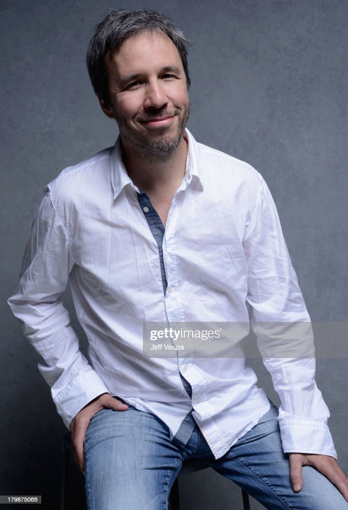 Director <a gi-track='captionPersonalityLinkClicked' href=/galleries/search?phrase=Denis+Villeneuve&family=editorial&specificpeople=6688941 ng-click='$event.stopPropagation()'>Denis Villeneuve</a> of 'Prisoners' poses at the Guess Portrait Studio during 2013 Toronto International Film Festival on September 7, 2013 in Toronto, Canada.