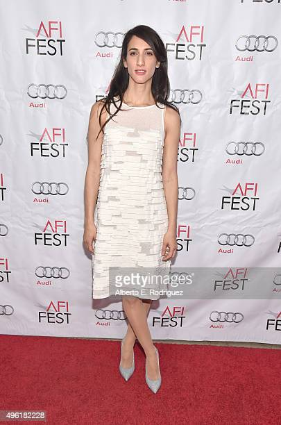 Director Deniz Erguven attends the photo call for Cohen Media Group's 'Mustang' during AFI FEST 2015 Presented By Audi at TCL Chinese 6 Theatres on...