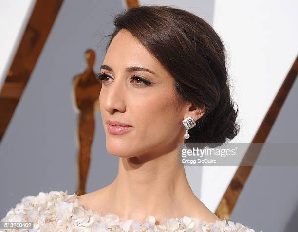 Director Deniz Gamze Erguven arrives at the 88th Annual Academy Awards at Hollywood Highland Center on February 28 2016 in Hollywood California