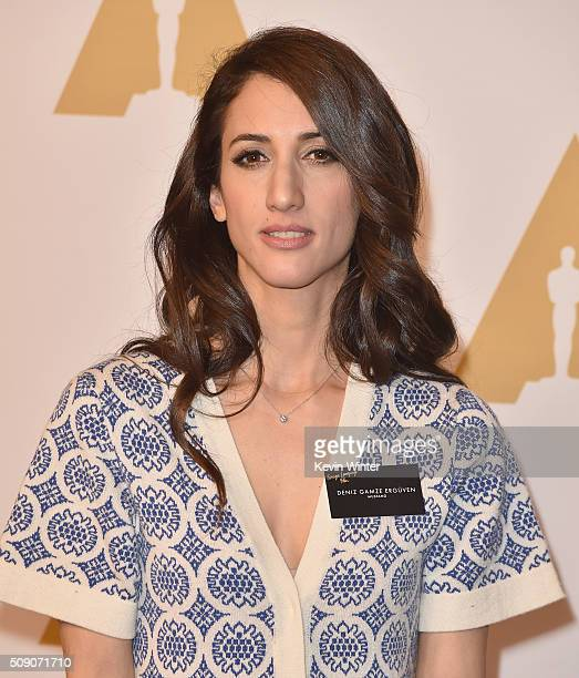 Director Deniz Gamze Erguven attends the 88th Annual Academy Awards nominee luncheon on February 8 2016 in Beverly Hills California