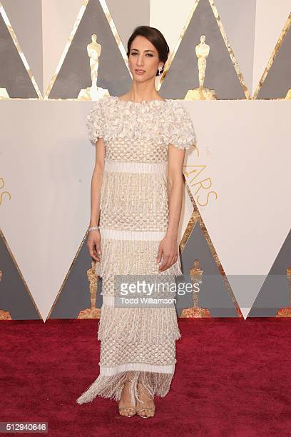 Director Deniz Gamze Erguven attends the 88th Annual Academy Awards at Hollywood Highland Center on February 28 2016 in Hollywood California