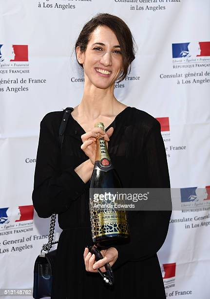Director Deniz Gamze Erguven attends the Champagne brunch reception honoring the French nominees for The 88th Academy Awards at La Residence de...