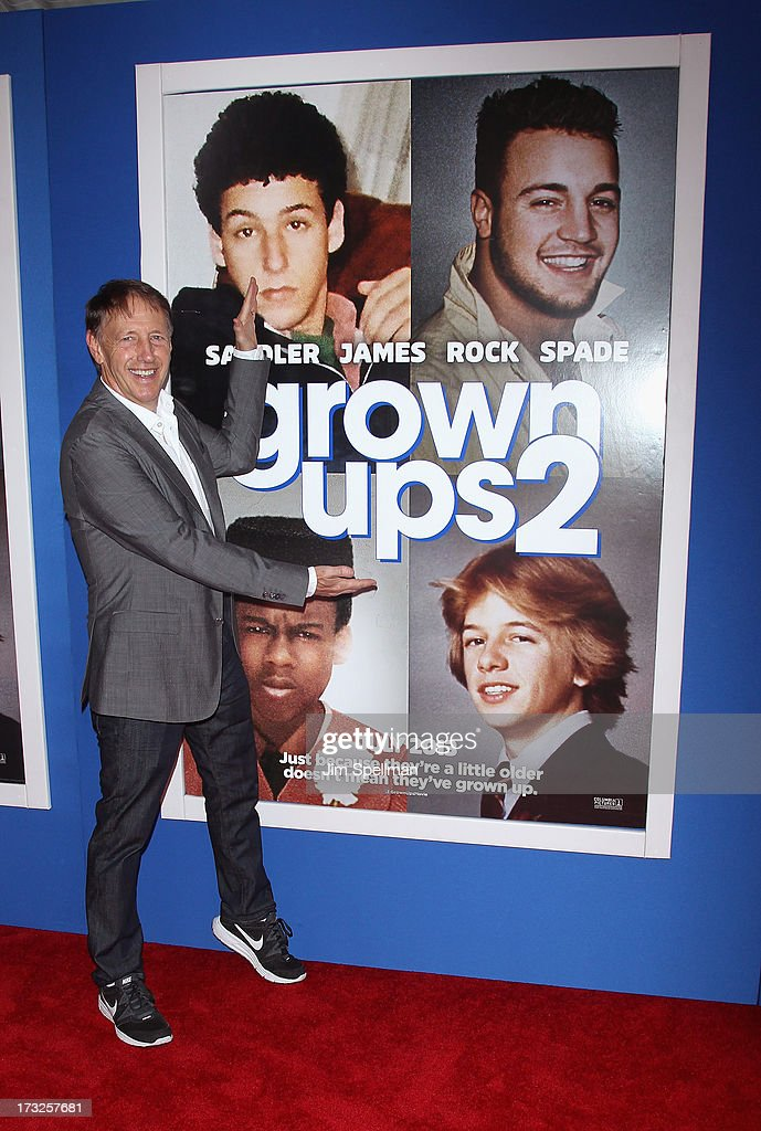 Director <a gi-track='captionPersonalityLinkClicked' href=/galleries/search?phrase=Dennis+Dugan&family=editorial&specificpeople=704543 ng-click='$event.stopPropagation()'>Dennis Dugan</a> attends the 'Grown Ups 2' New York Premiere at AMC Lincoln Square Theater on July 10, 2013 in New York City.