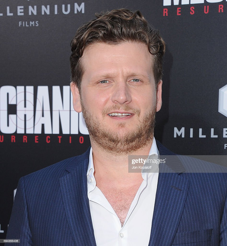 Director Dennis Gansel arrives at the Los Angeles Premiere 'Mechanic Resurrection' at ArcLight Hollywood on August 22 2016 in Hollywood California
