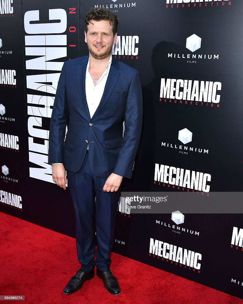 Director Dennis Gansel arrives at the Premiere Of Summit Entertainment's 'Mechanic Resurrection' at ArcLight Hollywood on August 22 2016 in Hollywood...