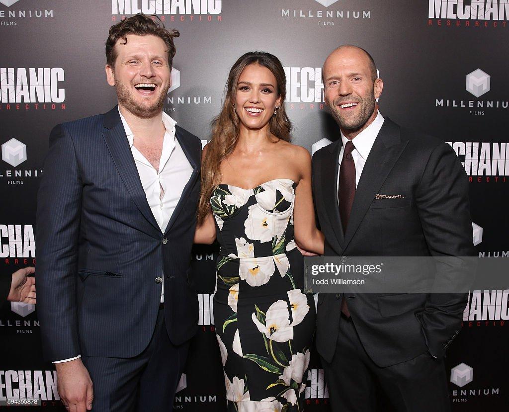 "Premiere Of Lionsgate Summit Premiere's ""Mechanic: Resurrection"" - Red Carpet & After Party"