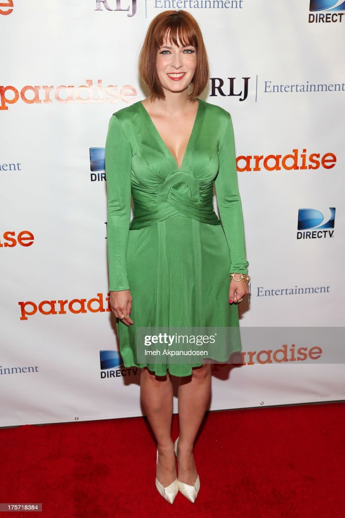 Director Diablo Cody attends the premiere of DirecTV's 'Paradise' at Mann Chinese 6 on August 6, 2013 in Los Angeles, California.