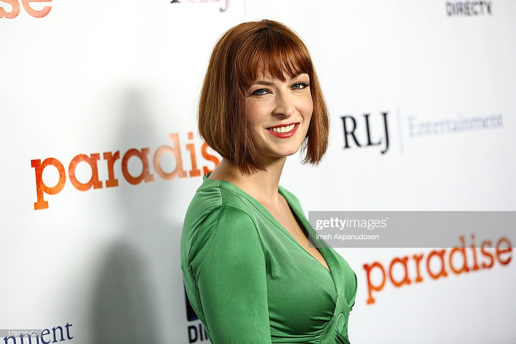 Director <a gi-track='captionPersonalityLinkClicked' href=/galleries/search?phrase=Diablo+Cody&family=editorial&specificpeople=4482845 ng-click='$event.stopPropagation()'>Diablo Cody</a> attends the premiere of DirecTV's 'Paradise' at Mann Chinese 6 on August 6, 2013 in Los Angeles, California.