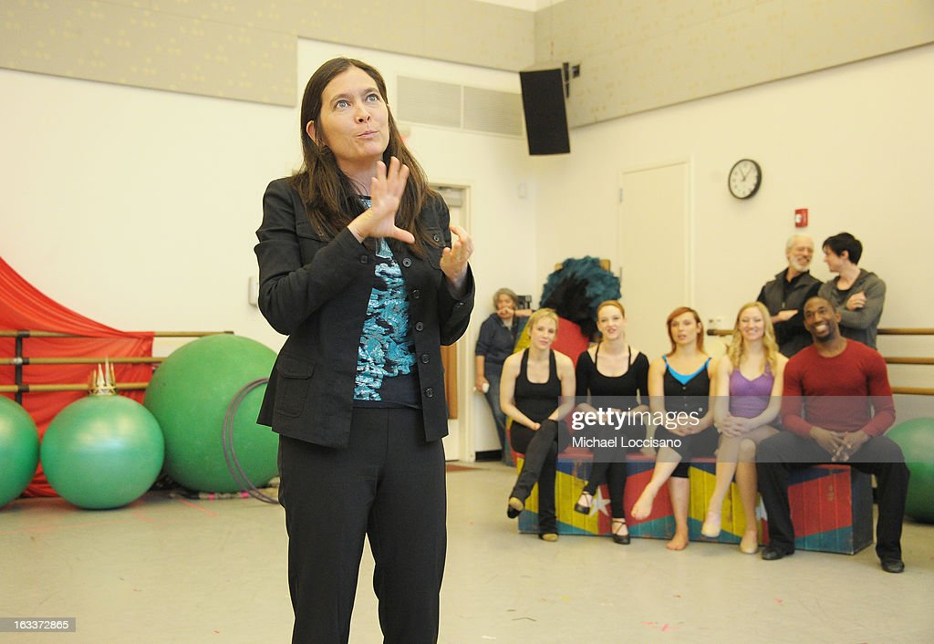 Director Diane Paulus attends the 'Pippin' Broadway Open Press Rehearsal at Manhattan Movement & Arts Center on March 8, 2013 in New York City.