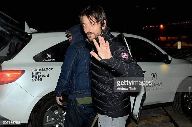 Director Diego Luna is seen on January 27 2016 in Park City Utah