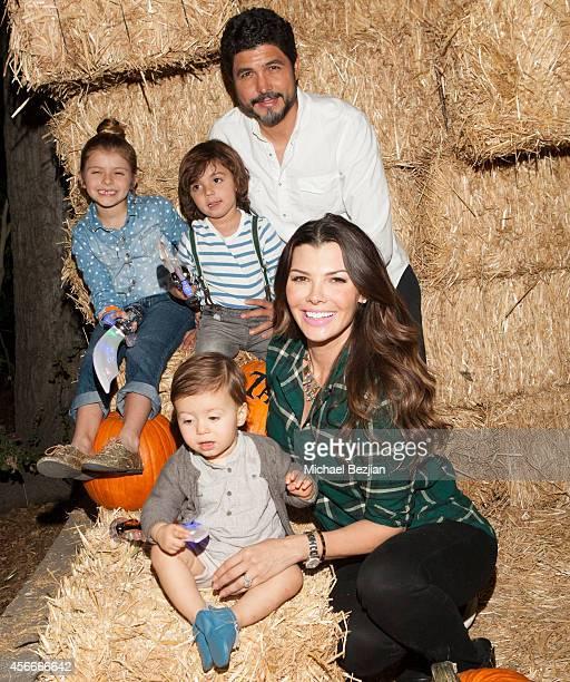 Director Director Alejandro Gomez Monteverde Tv personality Ali Landry and children Valentin Francesco Monteverde Estela Ines Monteverde and Marcelo...
