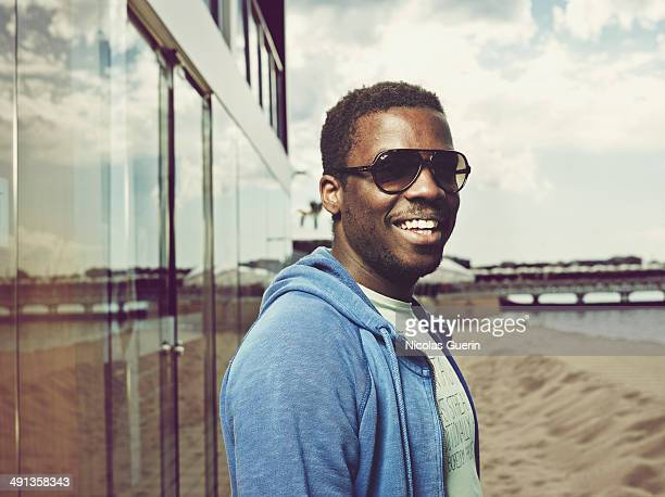 Director Djinn Carrenard is photographed for Self Assignment on May 16 2014 in Cannes France