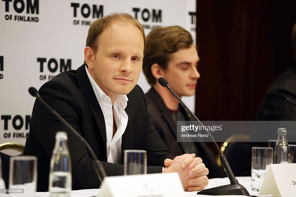Director Dome Karukoski attends the 'Tom of Finland' press conference during the 66th Berlinale International Film Festival Berlin at Ritz Carlton on February 14, 2016 in Berlin, Germany.