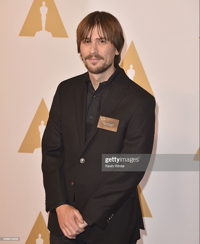 Director Don Hertzfeldt attends the 88th Annual Academy Awards nominee luncheon on February 8, 2016 in Beverly Hills, California.