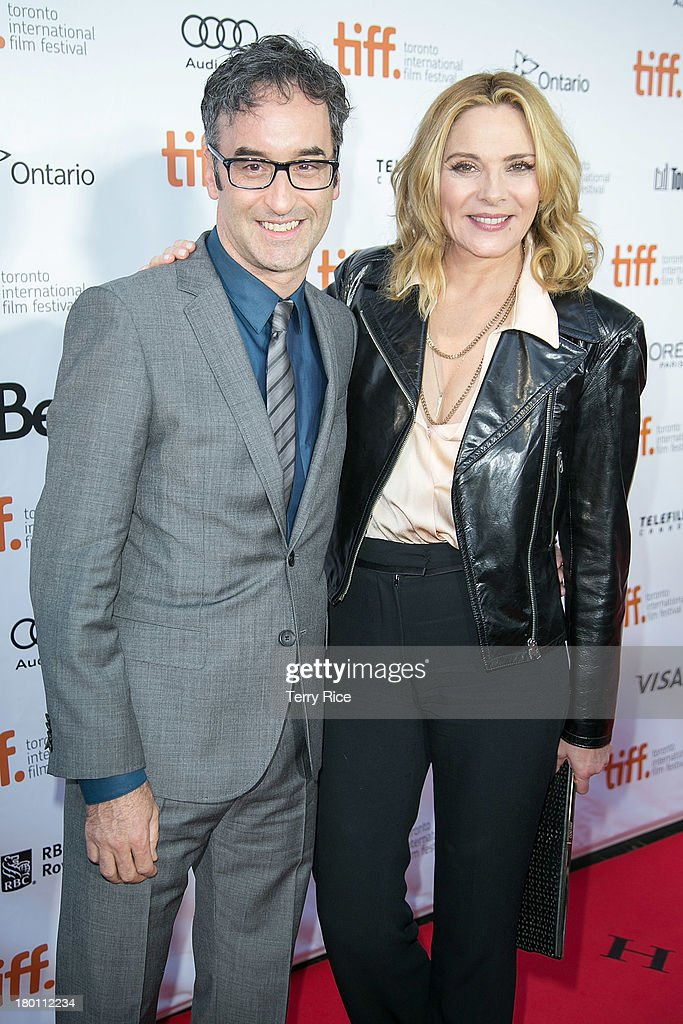 Director Don McKellar (L) and actress Kim Cattrall attend 'The Grand Seduction' premiere during the 2013 Toronto International Film Festival at Roy Thomson Hall on September 8, 2013 in Toronto, Canada.