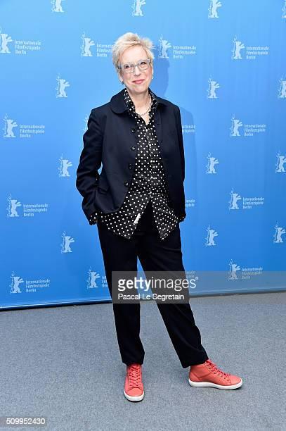 Director Doris Doerrie attends the 'Gruesse aus Fukushima' photo call during the 66th Berlinale International Film Festival Berlin at Grand Hyatt...