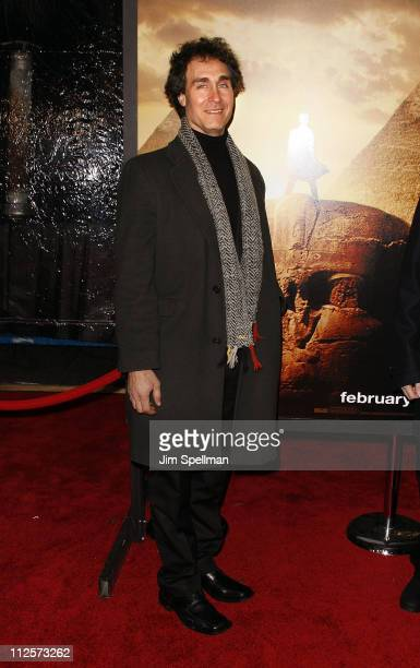 Director Doug Liman arrives at 'Jumper' premiere at the Ziegfeld Theater on February 11 2008 in New York City