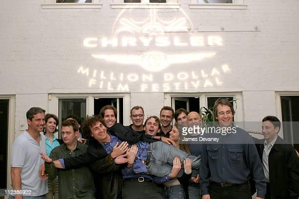 Director Doug Liman Hypnotic CEO David Bartis and Chrysler Million Dollar Film Festival Directors