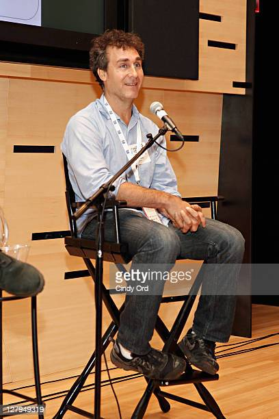 Director Doug Liman speaks at Emerging Visions 2011 at Elinor Bunin Munroe Film Center on October 3 2011 in New York City