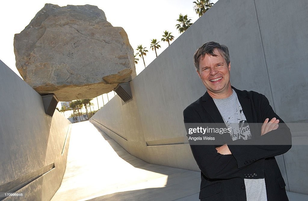 Director <a gi-track='captionPersonalityLinkClicked' href=/galleries/search?phrase=Doug+Pray&family=editorial&specificpeople=2218440 ng-click='$event.stopPropagation()'>Doug Pray</a> attends the 2013 Los Angeles Film Festival - 'Levitated Mass: The Story Of Michael Helzer's Monolithic Sculpture' Gala Screening at Bing Theatre At LACMA on June 20, 2013 in Los Angeles, California.
