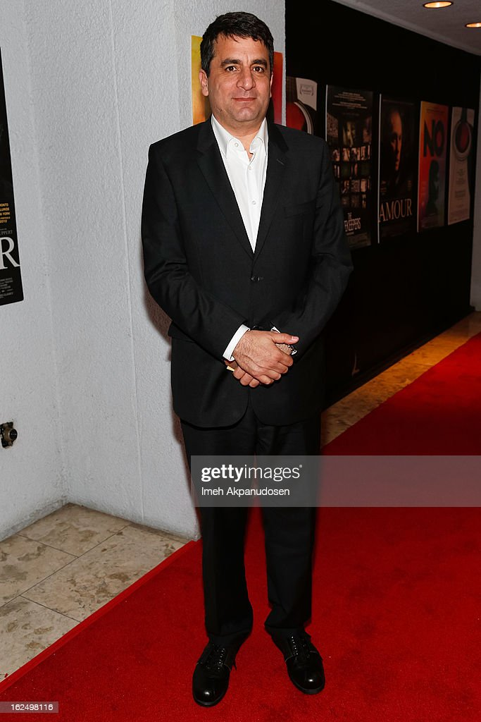Director <a gi-track='captionPersonalityLinkClicked' href=/galleries/search?phrase=Dror+Moreh&family=editorial&specificpeople=9690099 ng-click='$event.stopPropagation()'>Dror Moreh</a> attends the Sony Pictures Classics Pre-Oscar Dinner at The London Hotel on February 23, 2013 in West Hollywood, California.