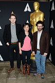 Director Duke Johnson producer Rosa Tran and screenwriter Charlie Kaufman attend the 88th annual Academy Awards Oscar Week celebrates Animated...