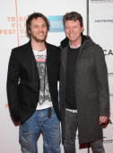 Director Duncan Jones and father David Bowie attend the premiere of 'Moon' during the 2009 Tribeca Film Festival at BMCC Tribeca Performing Arts...