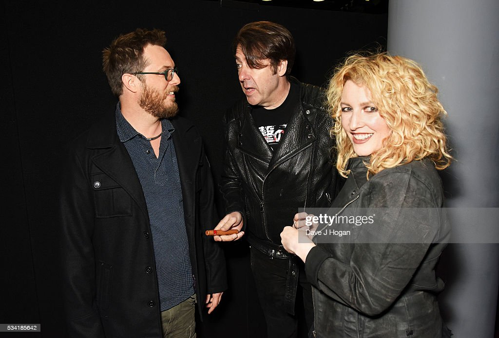 Director <a gi-track='captionPersonalityLinkClicked' href=/galleries/search?phrase=Duncan+Jones+-+Director+de+cine&family=editorial&specificpeople=7554328 ng-click='$event.stopPropagation()'>Duncan Jones</a>, Jonathan Ross and <a gi-track='captionPersonalityLinkClicked' href=/galleries/search?phrase=Jane+Goldman&family=editorial&specificpeople=210687 ng-click='$event.stopPropagation()'>Jane Goldman</a> attend a special screening of 'Warcraft: The Beginning' at BFI IMAX on May 25, 2016 in London, England.