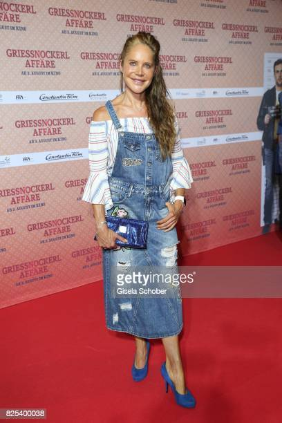 Director during the 'Griessnockerlaffaire' premiere at Mathaeser Filmpalast on August 1 2017 in Munich Germany