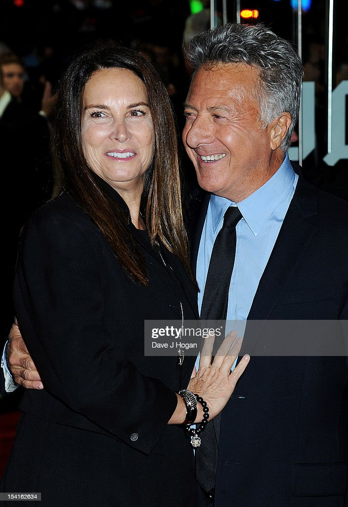 Director <a gi-track='captionPersonalityLinkClicked' href=/galleries/search?phrase=Dustin+Hoffman&family=editorial&specificpeople=171356 ng-click='$event.stopPropagation()'>Dustin Hoffman</a> and wife Lisa Gottsegen attend the premiere of 'Quartet' during the 56th BFI London Film Festival at Odeon Leicester Square on October 15, 2012 in London, England.