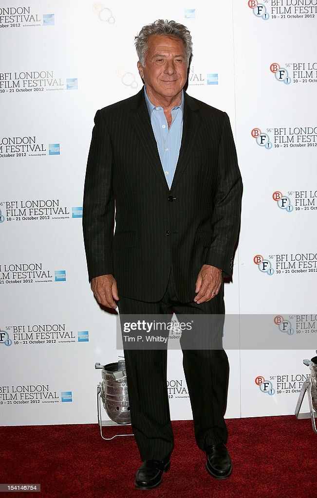Director <a gi-track='captionPersonalityLinkClicked' href=/galleries/search?phrase=Dustin+Hoffman&family=editorial&specificpeople=171356 ng-click='$event.stopPropagation()'>Dustin Hoffman</a> attends the 'Quartet' photocall during the BFI London Film Festival at the Empire Leicester Square on October 15, 2012 in London, England.