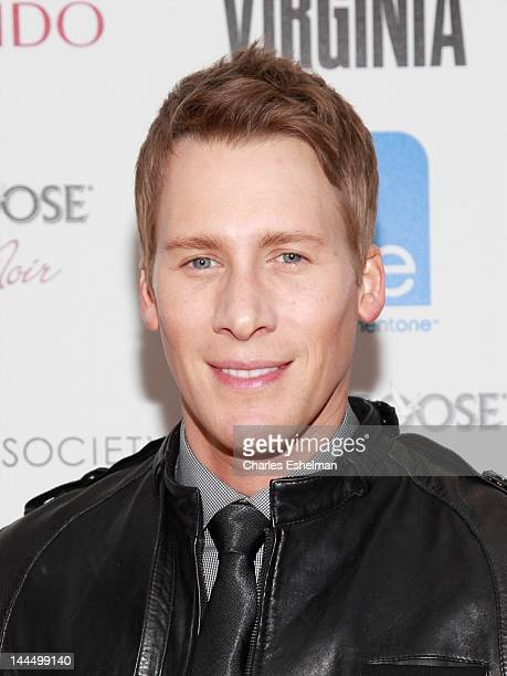 Director Dustin Lance Black attends The Cinema Society Shiseido with Grey Goose host a screening of 'Virginia' at Crosby Street Hotel on May 14 2012...