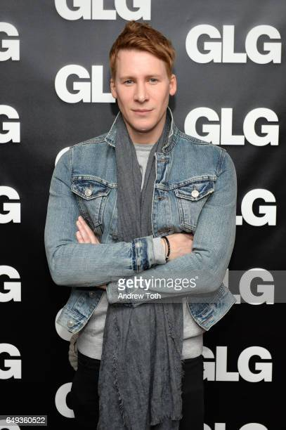 Director Dustin Lance Black visit GLG on March 7 2017 in New York City