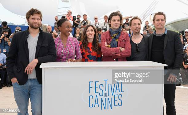 Director Dyana Gaye musician/director Olivia Ruiz musician/director Benjamin Biolay director Nicolas Lebrun and director Francois Goetghebeur attend...