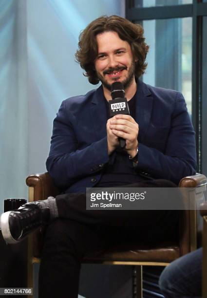 Director Edgar Wright attends Build to discuss 'Baby Driver' at Build Studio on June 27 2017 in New York City