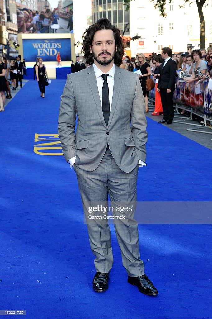 Director Edgar Wright attends the World Premiere of The World's End at Empire Leicester Square on July 10, 2013 in London, England.