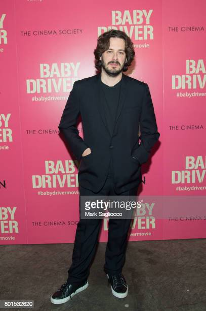 Director Edgar Wright attends TriStar Pictures The Cinema Society and Avion's screening of 'Baby Driver' at The Metrograph on June 26 2017 in New...